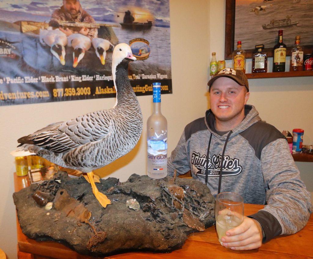grey goose hunting