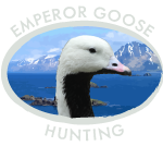 Emperor Goose Hunting Logo